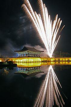 Fireworks at GyeongJu, South Korea
