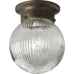 Progress Lighting - Antique Bronze 1-light Flushmount - 785247155019 - Home Depot Canada....office