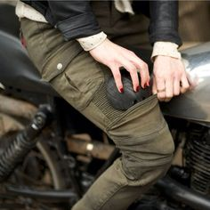 Ugly bros Motorpool-G riding pants with removable protection. $323.00