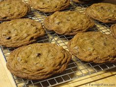 Big, Soft, and Chewy Whole Wheat Chocolate Chip Raisin Cookies by Farmgirl Susan, via Flickr