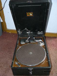 hmv 102 vintage gramophone
