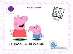 GUIONES DE JUEGOS E R I E MORADA LA CASA DE PEPPA PIG