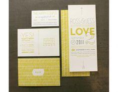 Design Envy · Wedding Invitation: Ross Bruggink and Jessica Keintz