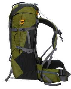 $99.86-$175.99 Head to the mountain with confidence with the Cuscus external frame backpack. Built to handle heavy loads without sacrificing the creature comforts, the multiday mountaineering pack is made of water-resistant polyester, and features a sizable 88 liters of storage. There's plenty of room for clothes and gear in the large main compartment, which offers top and bottom access. Yo ...