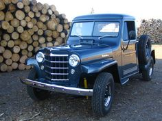 1953 Jeep Willys Pickup.