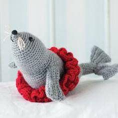 Crochet Seal - Free Pattern  (so cute!)