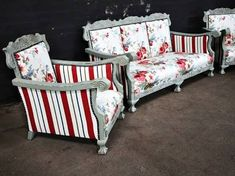 Image result for ball and claw furniture Painted Bedroom Furniture, Couch Furniture, Apartment Furniture, French Furniture, Upholstered Furniture, Furniture Decor, Living Room Furniture, Living Rooms, Rustic Outdoor Furniture