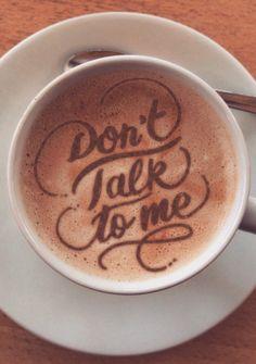Creative Typography and Coffee image ideas & inspiration on Designspiration Coffee Is Life, I Love Coffee, Coffee Art, Coffee Time, Typography Love, Creative Typography, Chocolates, Fresh Coffee Beans, Creative Coffee