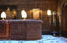 The Beekman Hotel traditional hotel desk reception
