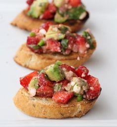 Strawberry, avocado, and feta salsa | Community Post: 22 Fabulous Fruit Salsas