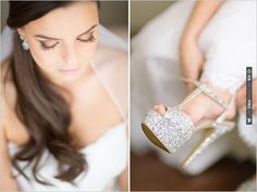 silver wedding shoes | CHECK OUT MORE IDEAS AT WEDDINGPINS.NET | #weddingshoes