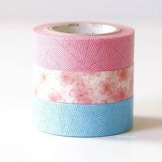 Cherry Blossom + Messy Weave MT Washi Tape Japanese  http://www.cutetape.com/shop/cherry-blossom-messy-mt-washi.html