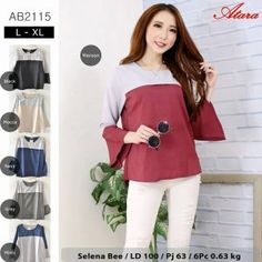 Grosir Baju Atasan AB2115 - Grosir Baju Muslim Termurah e14cdf943a