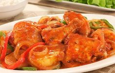 Take Of Your Own Health: Chicken in tomato sauce Tomato Sauce, Carne, Shrimp, Chicken Recipes, Health, Spanish, Miniature, Foods, Spanish Chicken