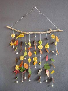 Home Diy Projects - New ideas Leaf Crafts, Fall Crafts, Diy Crafts For Kids, Diy Projects New, Natural Fall Decor, Decoration Creche, Diy Halloween Decorations, Autumn Decorations, Autumn Activities