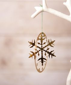 Snowflake Ornament - Oh my...