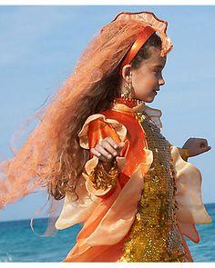 Kids Costumes for Halloween & Dress-up Halloween Dress, Halloween Outfits, Halloween Costumes, Little Mermaid Costumes, The Little Mermaid, Goldfish Costume, Chasing Fireflies, Costume Accessories, Sea Creatures