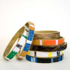 Hare + Hart Large Zero Waste Bangle Bracelets
