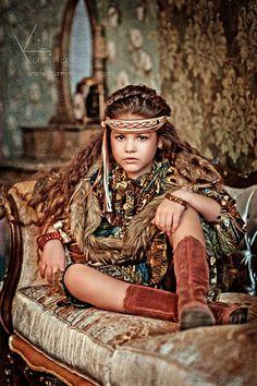 Kamilla Mandishi (born 2003) Russian child model and actress. Karina Kiel Photography.