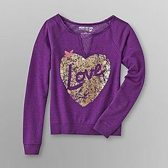 Dream Out Loud by Selena Gomez  Junior's Raw Edge Sweatshirt