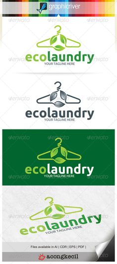 Eco Laundry — Vector EPS #letter L #world • Available here → https://graphicriver.net/item/eco-laundry/6513270?ref=pxcr