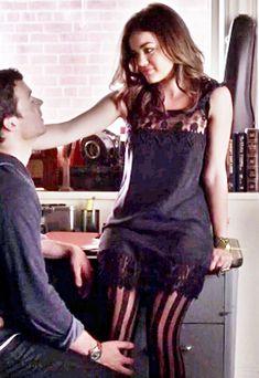 Ian Harding (Ezra Fitz) & Lucy Hale (Aria Montgomery) - Pretty Little Liars