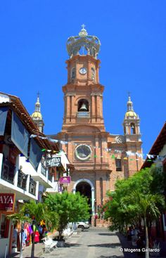 Our Lady of Guadalupe Church in downtown Puerto Vallarta.