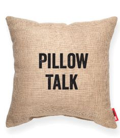 Pillow Talk Pillow