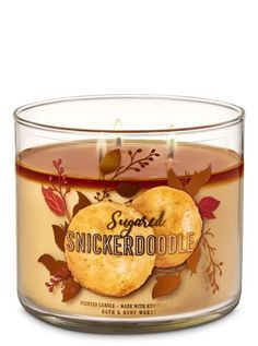 Snickerdoodle Candle by Bath & Body Works Sugared Snickerdoodle Candle