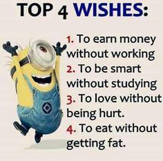 Top 4 ønsker
