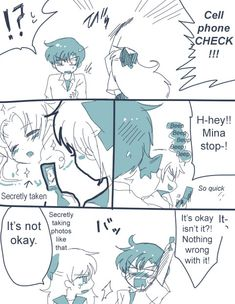 Sailor Scribbles: Check 01