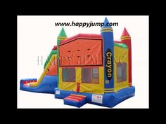 ▶ Crayon Jump & Slide 2 - CO2126 - YouTube