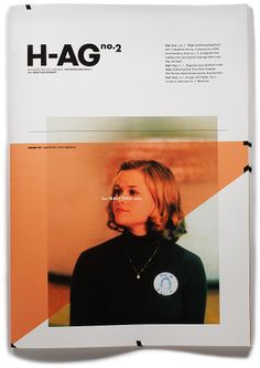 HA-G Issue # 2 is dedicated to Tracy Flick, the uber-achiever from the film Election. Amrita Marino Design
