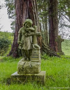 Grange Fell Cemetery, Grange over Sands, Cumbria, England. 3rd May 2015.