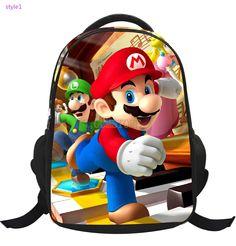 Animation Mario Primary School Backpacks Cartoon Child Offloading Bookbags #bag #backpack #schoolbag #bookbag #disney #men #women #young #teens #boys #girls #children #kids #animal #love #fashion #style #stylish   #shopping #cool #cute #amazing #fun #funny #beautiful #follow #followme #shoutout #likes #comment