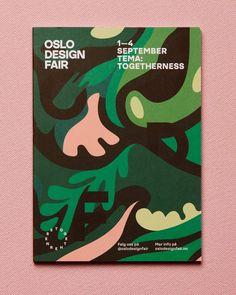 Oslo Design Fair Identity by Bielke & Yang #illustration #typography #branding