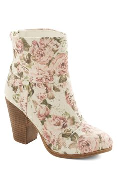 Perennial Ponderings Bootie, #ModCloth
