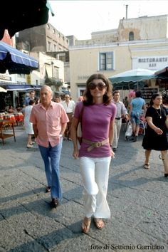 Anna Wintour has her bob and Karl Lagerfeld has his pristine ponytail and gloves.  Jacqueline Kennedy was all about the sunglasses   People started buying and sporting these overs…