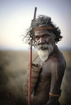 .Australia. Wise old aborigine ...lover of the earth....