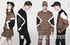 Tess Hellfeuer & Botond Cseke for Neil Barrett Fall/Winter 2013/2014 Campaign | The Fashionography