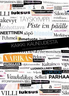 poster // Kaikki Kauneudesta kaikkikauneudesta.fi