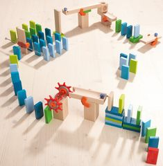 Haba - Wooden Building Blocks Domino Everyone needs dominos in their home #entropywishlist #pintowin