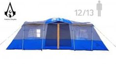 Americ Empire Cabin Instant Tent with 3 Room XL x Huge Family Tents for Camping Waterproof Large Fits Up to 6 Queen Beds Easy Assembly with Mosquito MeshBlue You can find more details by visiting the image link. (This is an affiliate link)