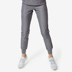 Scrub Pants - Women's colllection styles) - FIGS makes awesome medical apparel. Why wear scrubs when you can wear FIGS? Cuffed Pants, Trousers, Scrubs Outfit, Womens Scrubs, Scrub Pants, Scrub Tops, Mandarin Collar, Joggers, Pants For Women