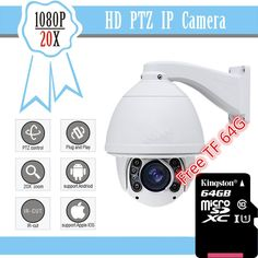 2016 CCTV Camera 20X Optical Zoom Blue Iris  Full HD1080P Auto Tracking PTZ IP Camera with wiper IR 150M High Speed Dome