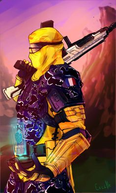 PlanetSide2 : Officer Gumper412 by Excalle