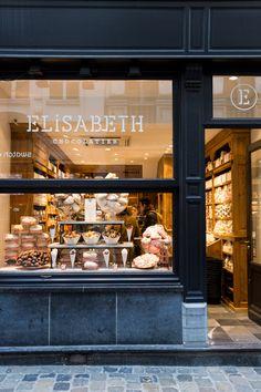 Elisabeth Chocolatier // Brussels // photo via 70percentpure.be