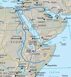 This author thinks Cush is in Asia....Map showing an impossible river course if Cush is Ethiopia