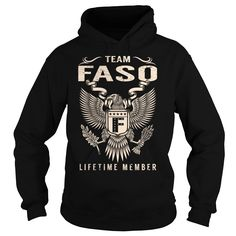 cool  Team FASO Lifetime Member - Last Name  Surname T-Shirt -  Discount Hot