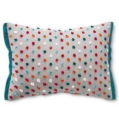 Xhilaration® Oblong Chennile Embroidery Decorative Pillow